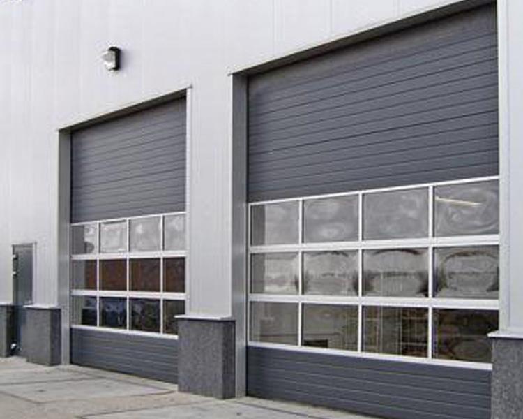 Portes industrielles aubry mat riel sa - Porte de garage industrielle occasion ...